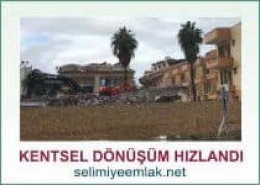 kentsel dönüşüm deprem tedbiridir